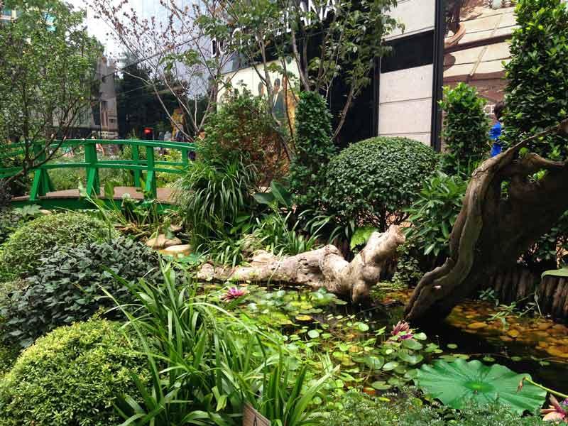 K11购物中心——莫奈花园